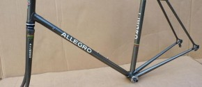 1980-90's Allegro frame and fork